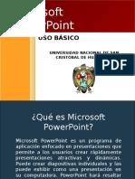 Aplicaciones de PowerPoint