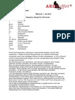 ARD-Buffet Rezepte Julil 2015
