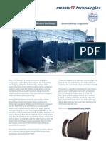 MeasurIT Tideflex Project Arroyo Vega Argentina 0809