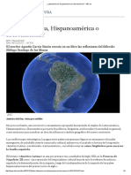 ¿Latinoamérica, Hispanoamérica o Iberoamérica_ - ABC