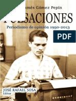 Pulsaciones. Periodismo de opinión de 1950-2013