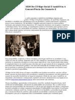 Análise Do Artigo 1830 Do Código Social E também A Possibilidade Com Concorrência Do Consorte E