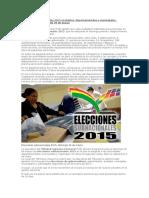 Elecciones Subnacionales 2015 en Bolivia