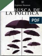 Bauman La Politica