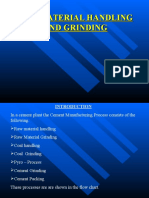 Raw Material Handling and Grinding