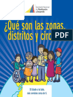 Zonas, Distritos y Circuitos - Folleto