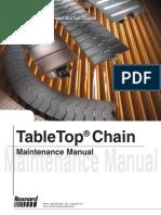 Manual de Mantenimiento de cadenas Table Top