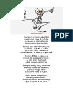 poema esqueleto