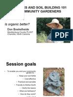 Fertilizers and Soil Building 101