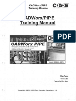 CADWorx 2002 Training