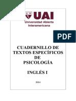 Textos de Psicología Inglés I