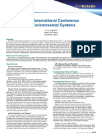 40th International Conference on Environmental Systems
