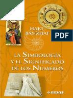 Banzhaf Hajo - La Simbologia Y El Significado de Los Numeros