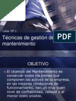 CLASE 2_Tecnicas de gestion mantenimiento industrial.pdf