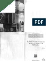 Bases Fundamentales de Derecho Ambiental Mexicano - Carla d. Aceves Ávila