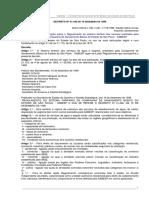 Decreto Estadual 41.446 de 1996