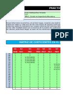 Resolucion Matricial de Problemas Estructurales Con Excel