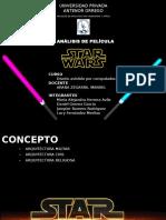 ANALISIS DE LA ARQUITECTURA DE LA PELICULA STAR WARS