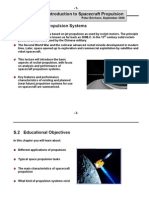 Spacecraft Propulsion Systems