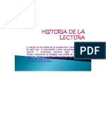 Diapositivas Historia de La Lectura