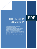 Compilation Theology in University