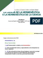 la ciencia de la hermenéutica de satue