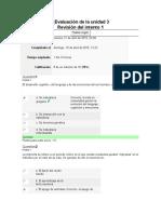 Evaluación de La Unidad 3