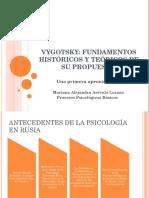 ASPECTOS CENTRALES DE LA PROPUESTA DE VIGOTSKY.ppt