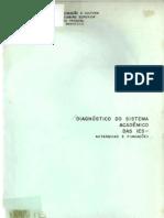 Diagnóstico Do Sistema Acadêmico Das IES - Autarquias e Fundações
