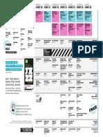 TD Winnipeg International Jazz Festival Schedule