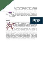 Atomo Molecula