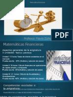 Unidad I. Matemátcas Financieras 1-2016 ALUMNOS