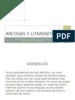 Arcosas y Litarenitas