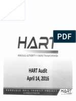 HART Audit Response