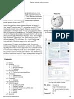 Wikipedia - Wikipedia, The Free Encyclopedia