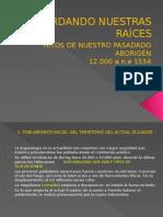 Historia de la llegada de los españoles (Ecuador).