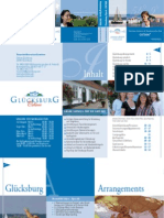 Urlaubsmagazin und Gastgeberverzeichnis Glücksburg 2010