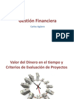 Valor del Dinero en el tiempo y Criterios de Evaluación de Proyectos
