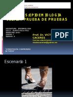 0. Semana 5 Epidemiologia Clinica Pruebas Diagnosticas