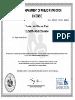 teaching license  1
