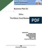 Business Plan Restaurant Assignment.doc.FINAL