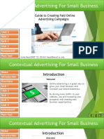 Contextual Advertising for Small Business