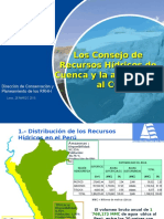 Recursos Hidricos de Cuenca-cambio Climatico