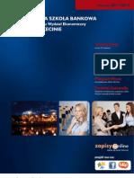 Informator 2011 - Studia podyplomowe - Wyższa Szkoła Bankowa Poznaniu Wydział Ekonomiczny w Szczecinie