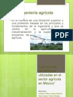 Nuevas tecnologias en el sector agricola