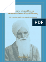 Kirpal Singh – UoM – Hazur Baba Sawan Singh Ji Maharaj with a short narrative brief Life Sketch