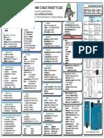 Arduino Syntax Sheet