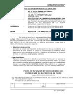 Informe Nº 012 Obs. Al Exp. de Recep. Obra Colegio Militar