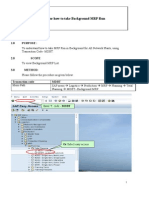 Background MRP Procedure
