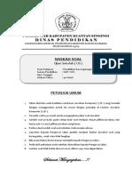 Dokumen Soal Pkn Us Smp